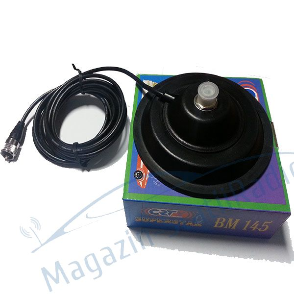 Antena Radio CB CRT Superstar ML145 N + magnet 145mm