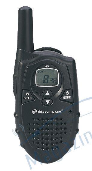 Statie radio PMR Midland G5 R1