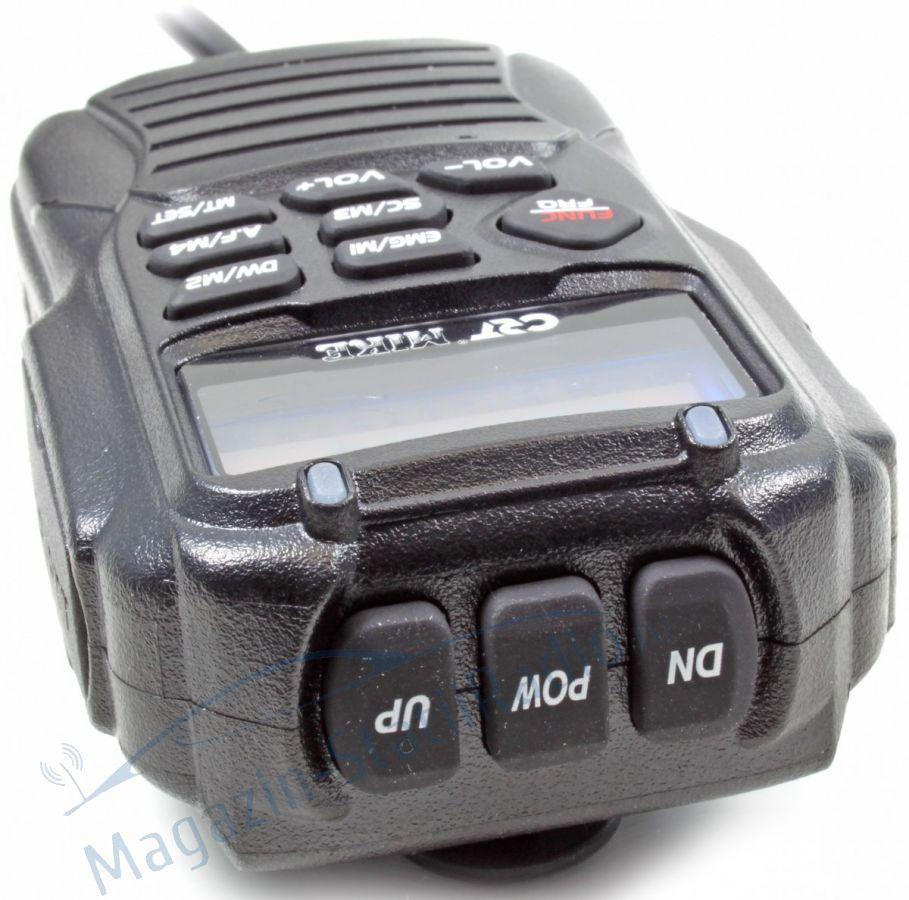 Statie Radio CB CRT MIKE 2016 - Microfon telecomanda, Sasiu dn aluminiu!!!