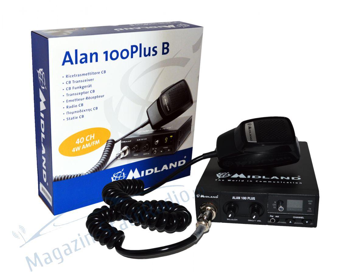 Statie radio CB Midland Alan 100 Plus B Romania