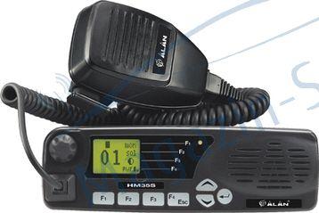 Statie radio VHF Midland Alan HM135S cu 5 tonuri pt TAXI, 135 - 174 Mhz
