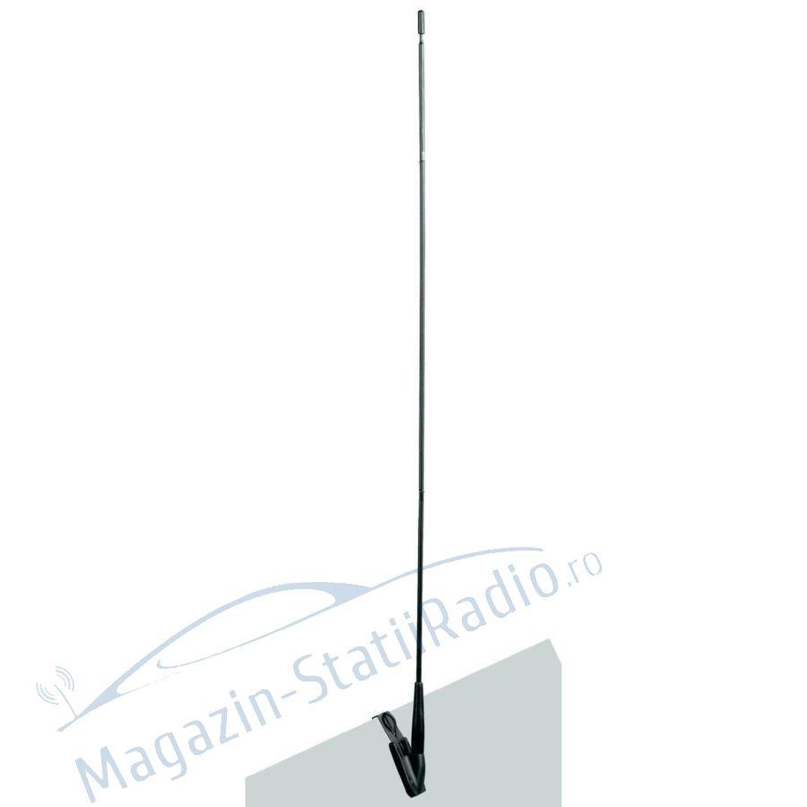 Antena CB Albrecht AF 393 montaj geam lungime 65cm