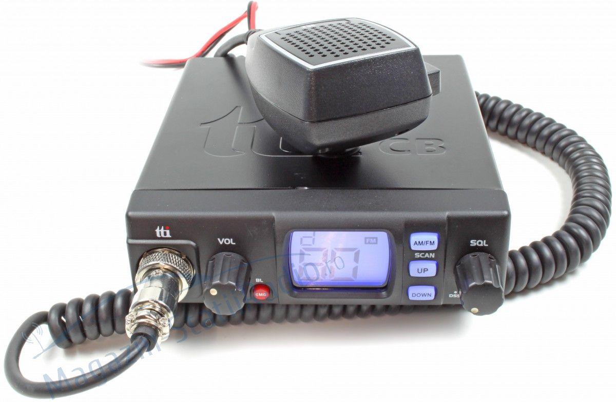 Statie radio CB TTi TCB 560 convertor 12-24V inclus si squelch automat