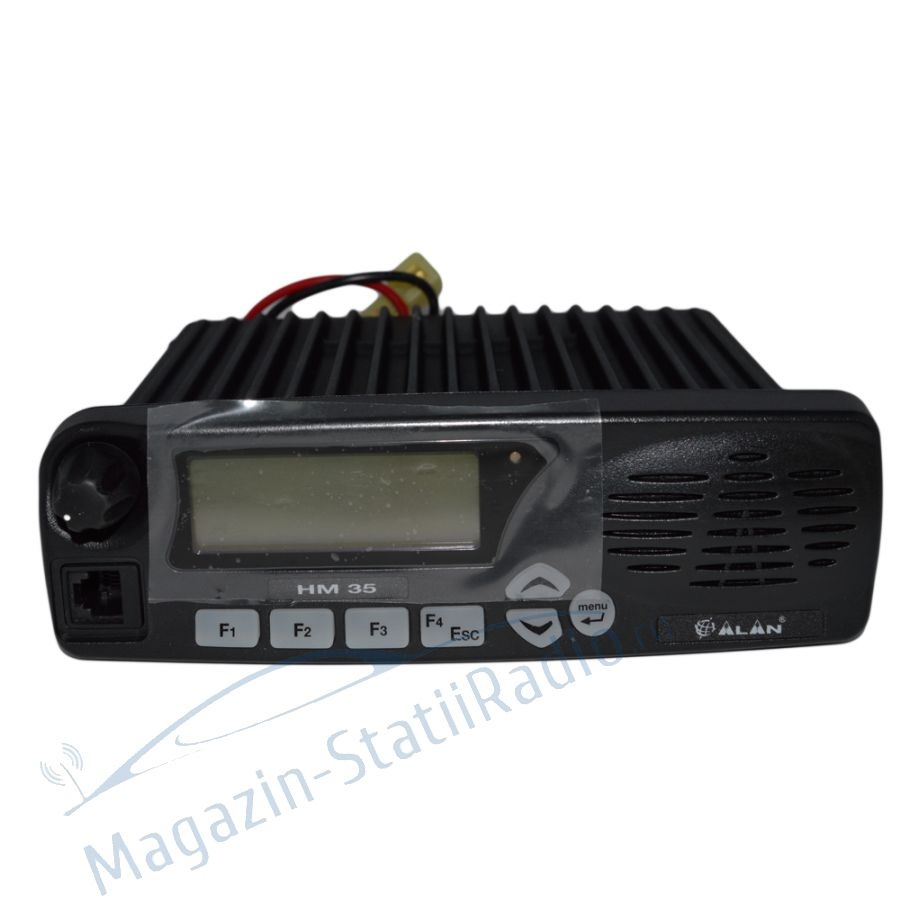 Statie radio VHF Midland Alan HM135 fara microfon, cu 5 tonuri pt TAXI, 135-174 Mhz