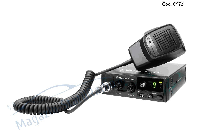 Statie radio CB Midland Alan 203