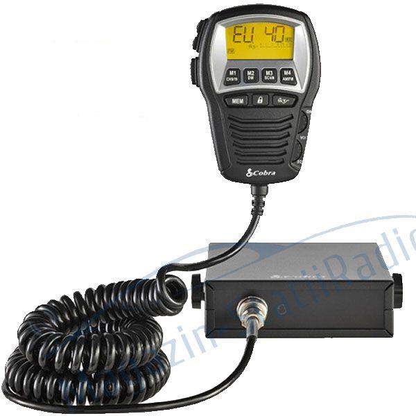 Statie radio CB Cobra 75 ST EU, 40 de canale AM/FM, Sistem SoundTracker