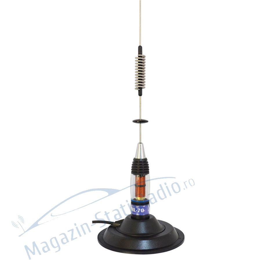 Antena CB PNI ML 70 lungime 70cm si magnet 145 mm inclus