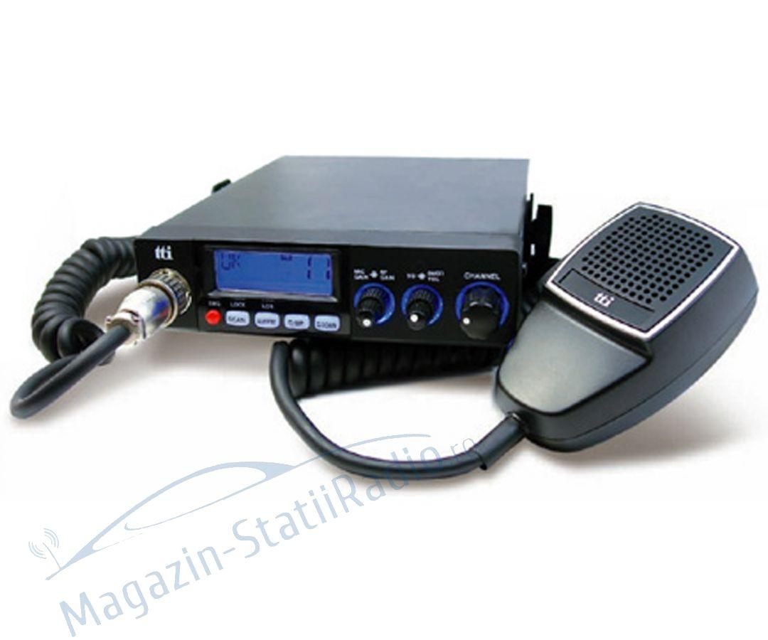 Statie radio CB TTi TCB-771, alimentare 12V-24V si squelch automat