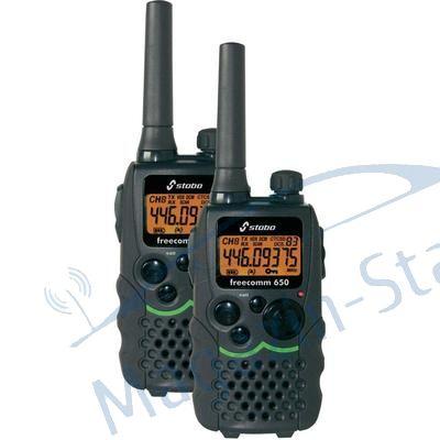 Set: Statie radio PMR portabila semi-profesionala Stabo Freecom 650