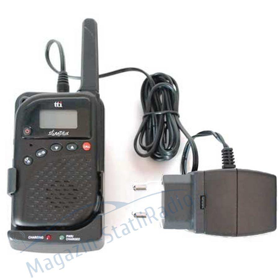 Statie radio PMR portabila TTi PMR-506TX, cu Baby Monitor si Intercom