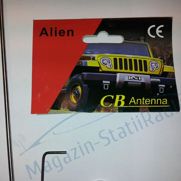 Antena radio CB Alien + baza magnet 140 mm