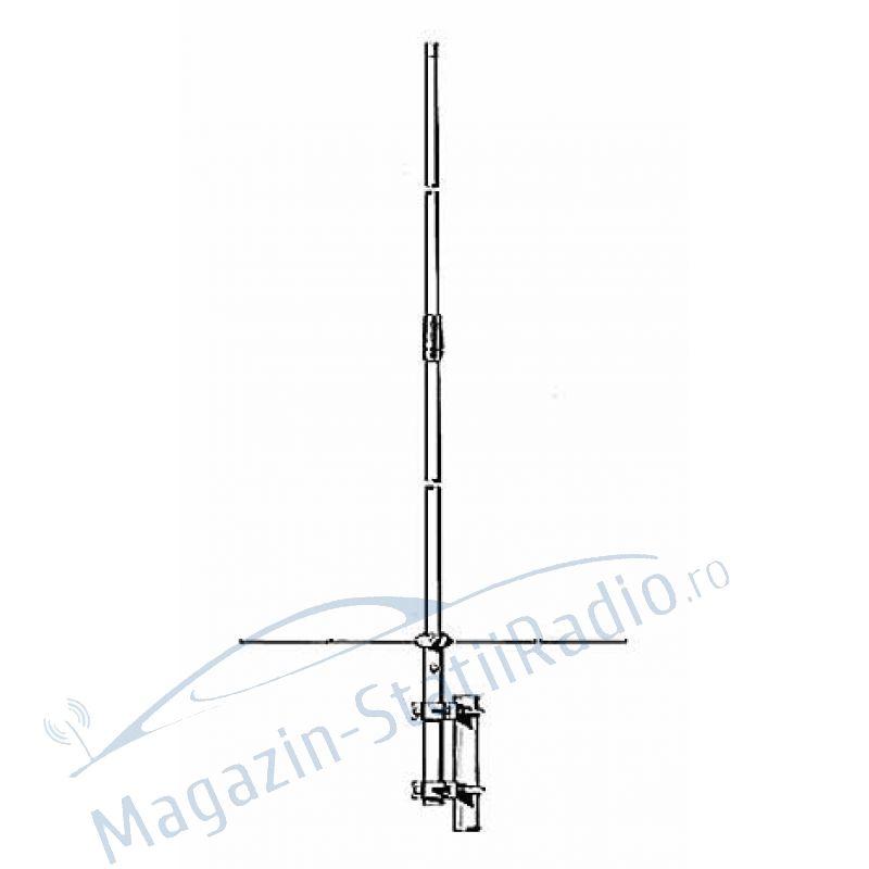 Antena fixa dualband VHF/UHF Sirio  SA 270 SN