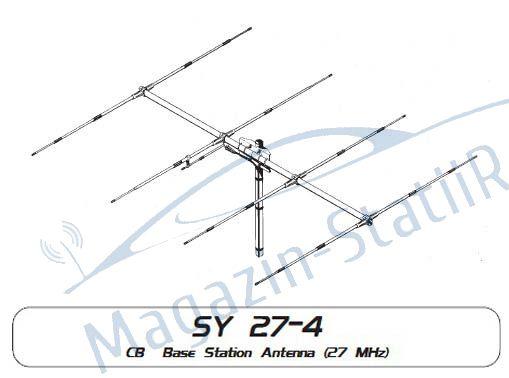 Antena Baza/Sediu Sirio -  SY 27-4