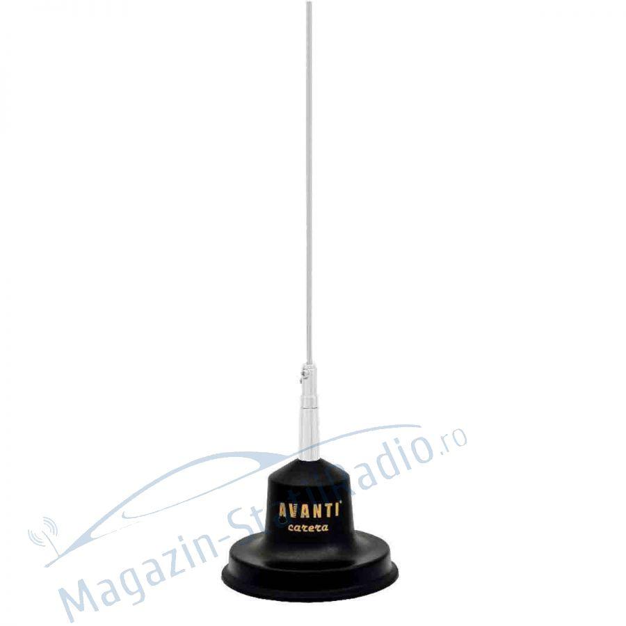 Antena radio CB Avanti Carera, 0.9 m, magnet 10cm