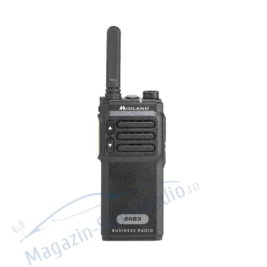 Statie radio PMR  PROFI portabila Midland BR03 Business Radio
