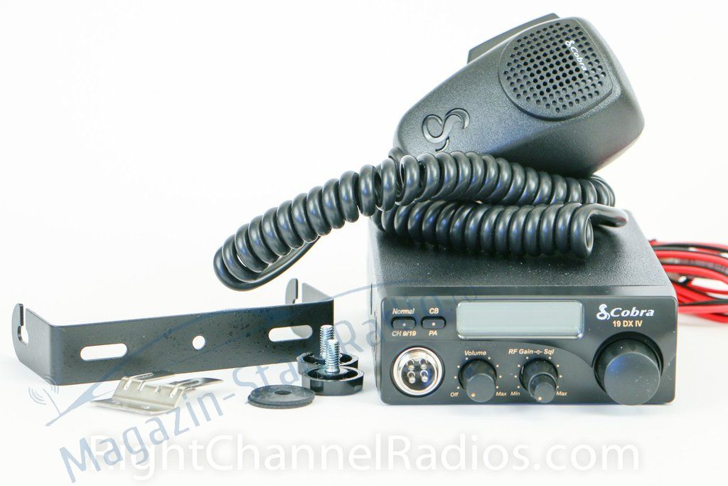Statie Radio CB Cobra 19 DX UV EU, de canale AM/FM