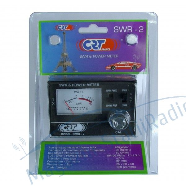 Pachet: CRT SWR 2, Aparat pentru calibrare antena + Cablu  1.5m