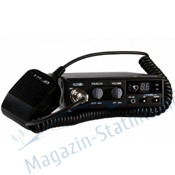 Set: Statie CB CRT S MINI II ASC, V3 + Antena CB MEGAWAT CB 13