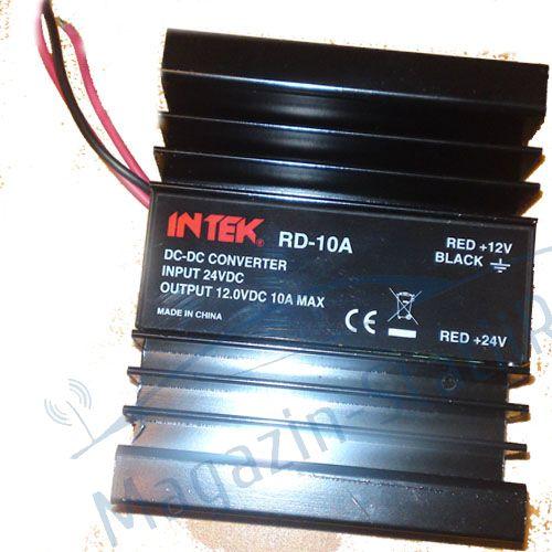 Reductor de tensiune INTEK 24/12 V 10 AMP