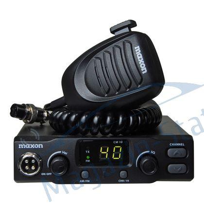 Statie radio CB Maxon CM 10 cu squelch automat