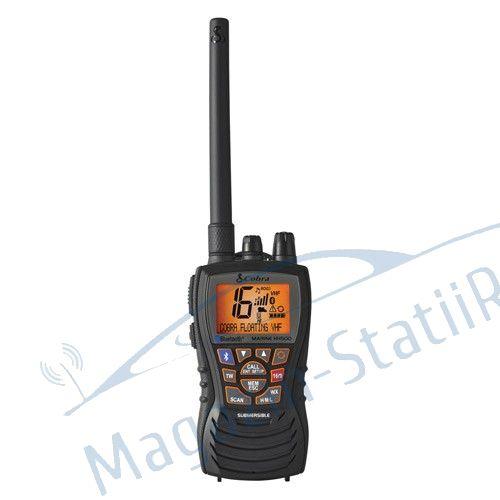 Cobra Marine MR HH500 FLT BT EU - Statie radio receptie emisie; Utilizare maritima; Submersibil; Bluetooth