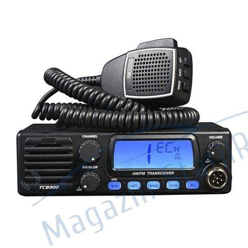 Statie radio CB TTi TCB 900, alimentare 12-24V si difuzor frontal