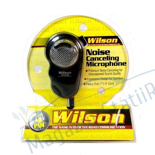 Microfon Wilson Pentru Statii Radio CB, Noise Canceling