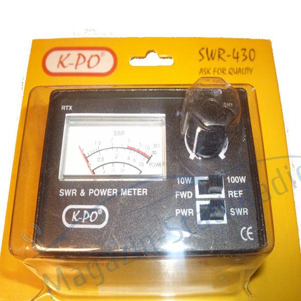 SWR/PWR metru K-PO 430