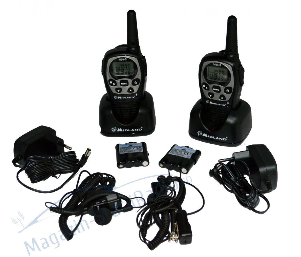 Statie radio PMR portabila Midland M99-S set