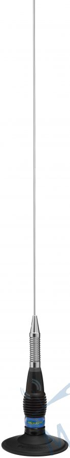 Antena President ML 145 UP + baza magnetica 120mm slim