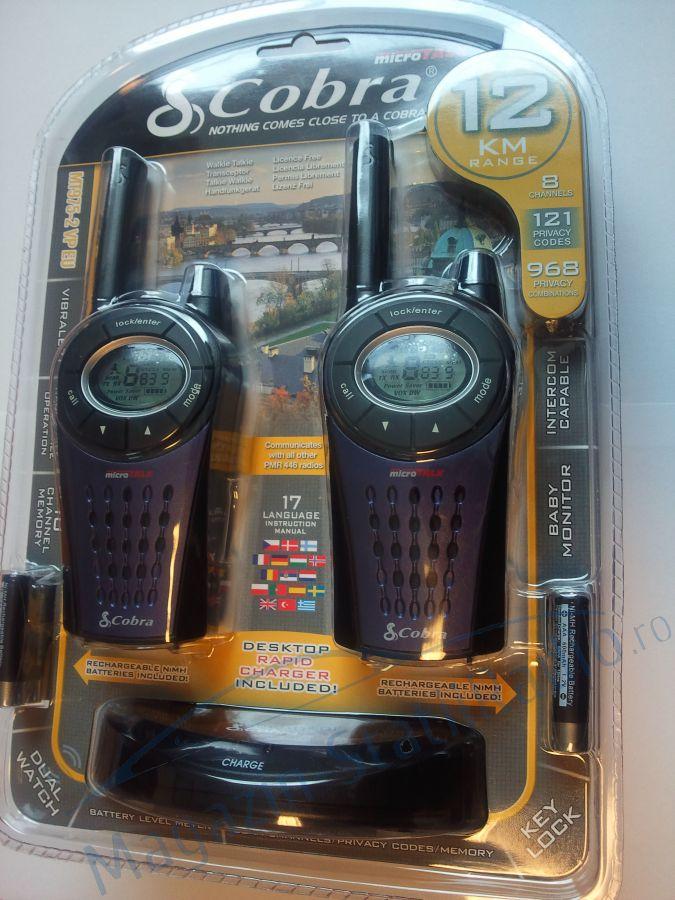 SET Statie Radio Portabila PMR Cobra MT 975  Walkie-Talkie