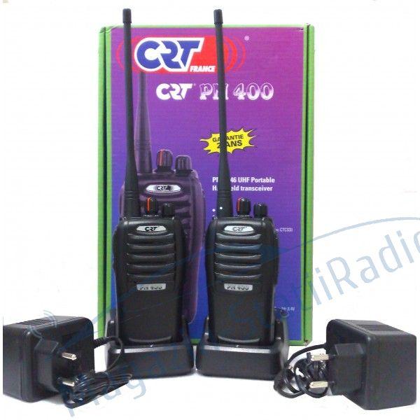 SET:2Bucati Statie radio portabila PMR profesionala/semi profesionala CRT PM 400