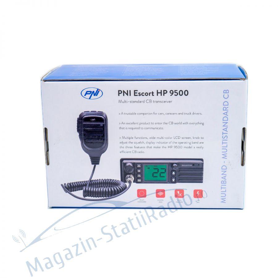 Statie radio CB PNI Escort HP 9500, alimentare 12V/24V