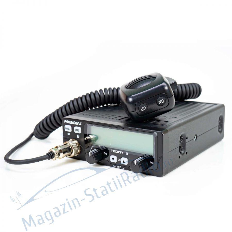 Statie radio CB President Teddy II ASC AM/FM, Model 2021