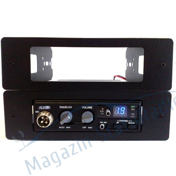 Statie Radio CB CRT S MINI II ASC, V3 + Antena MEGAWAT ML147