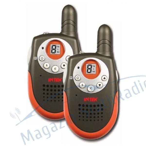 Set 2 buc Statii portabile PMR 446MHz, INTEK - i-Talk T30. Statie Radio Licenta Libera.