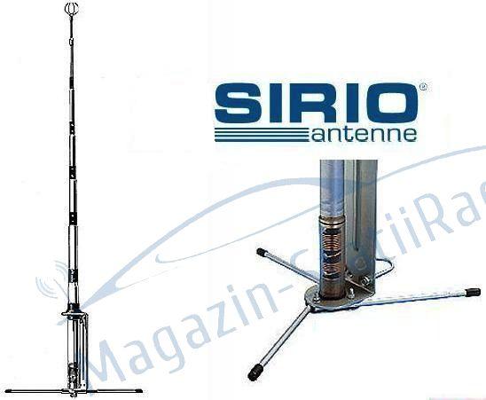 Antena de baza (fixa) de emisie-receptie 27MHz Sirio - GPE 27 5-8