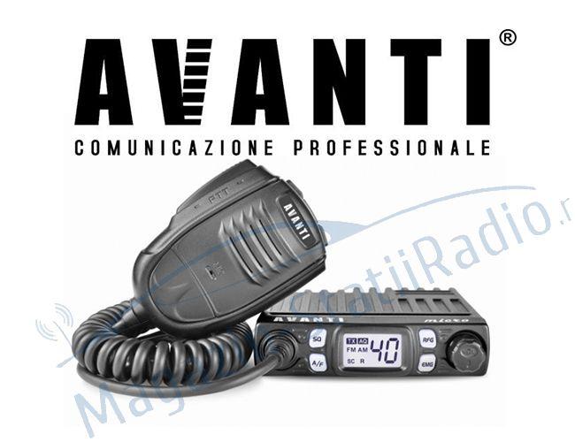 Statie Radio CB Avanti Micro 4w putere, AM/FM - Cea mai mica statie din lume