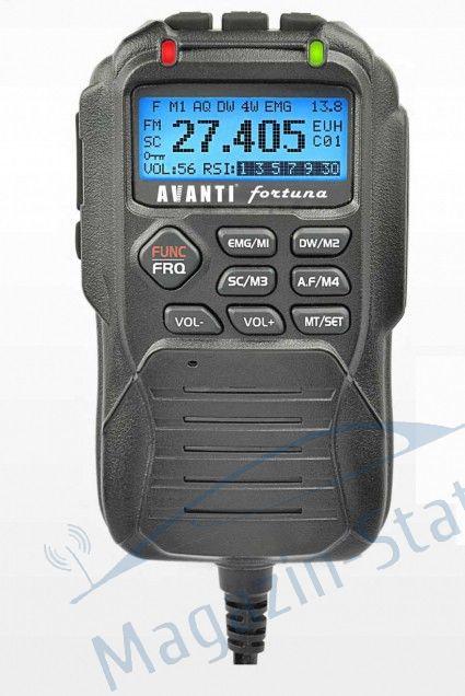 Cadou: Casca la  Statie Radio CB Avanti Fortuna - Microfon telecomanda