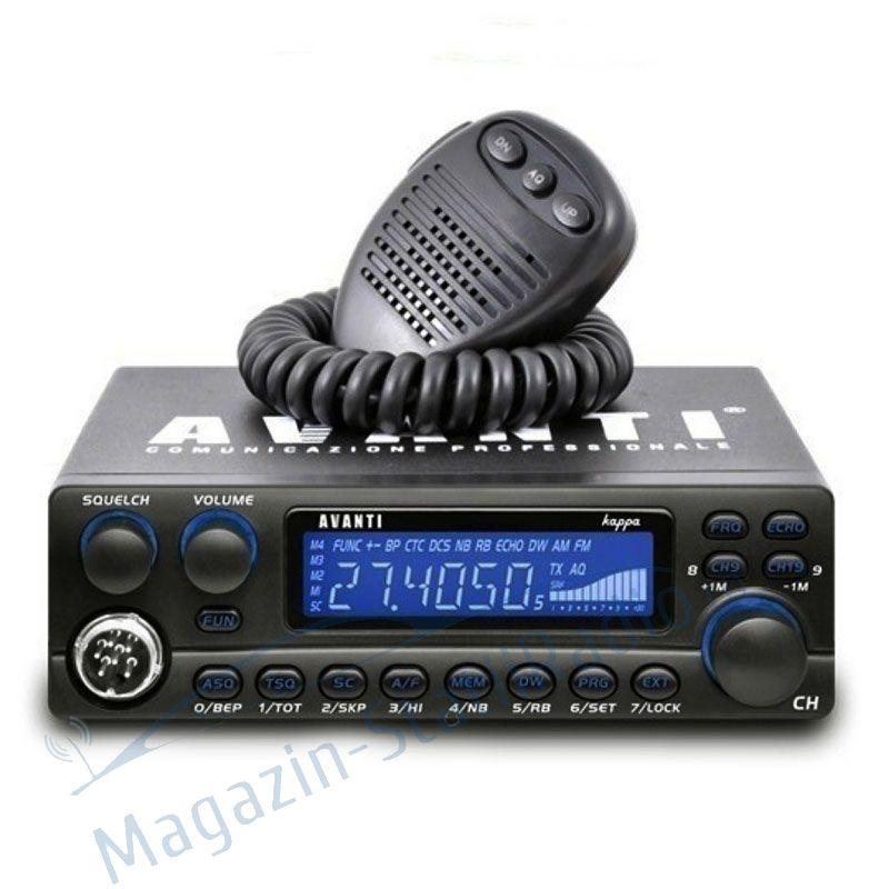 Statie Radio CB Avanti Kappa Professionale V3- Model nou, ASQ,RB