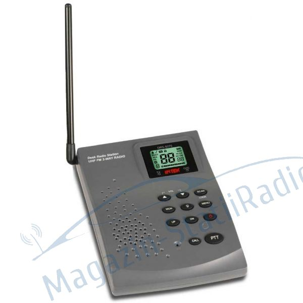 Statie Radio De Birou, PMR INTEK - DRS-5070. Statie Radio Licenta Libera.