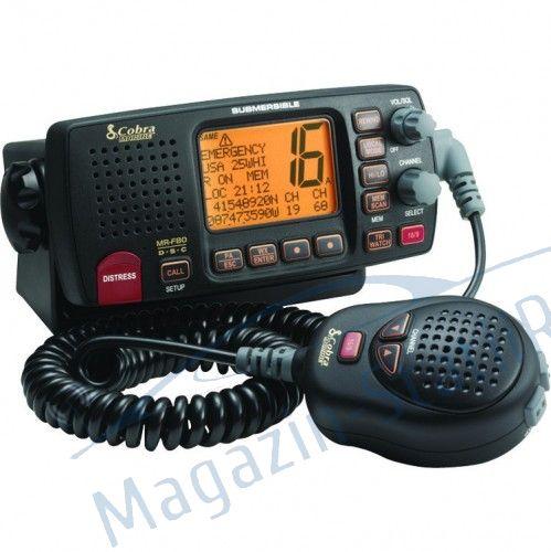 Statie radio receptie emisie Cobra Marine MR F80 EU - GPS, Jurnal apeluri DSC