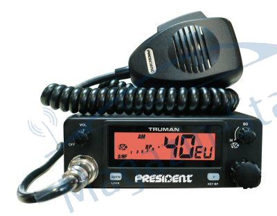 Statie Radio President Truman ASC, 40 de canale AM/FM, toate standardele europene 2011