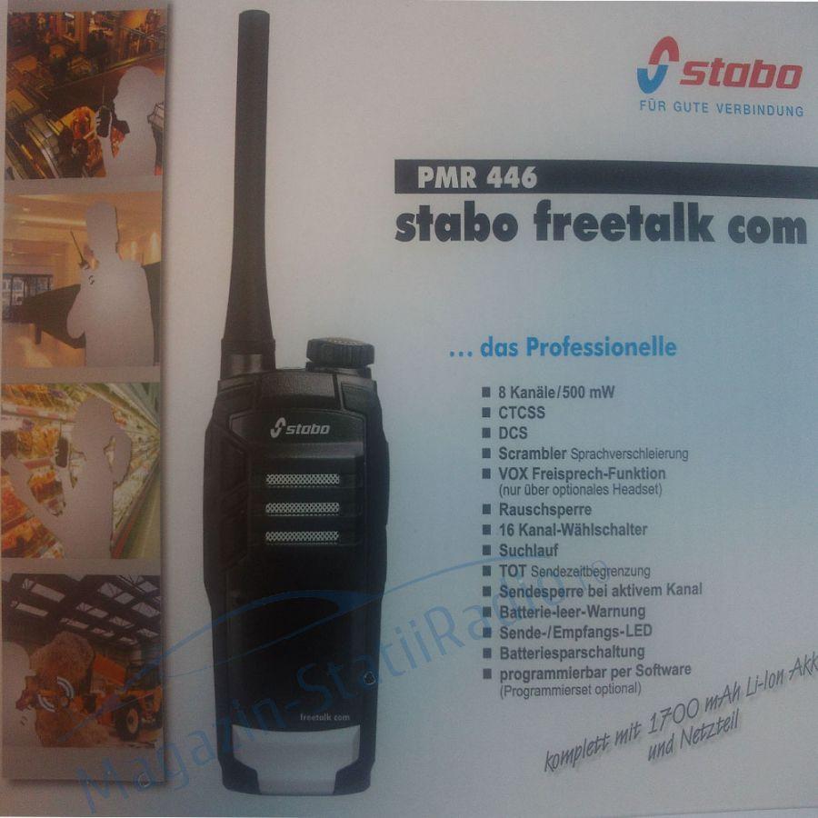 Statie Portabila Profesionala PMR Stabo Freetalk COM