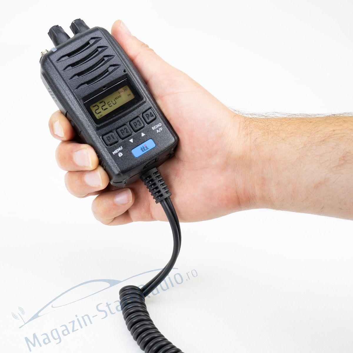 Statie radio CB portabila TTi TCB-H100, 12V/24V, RB