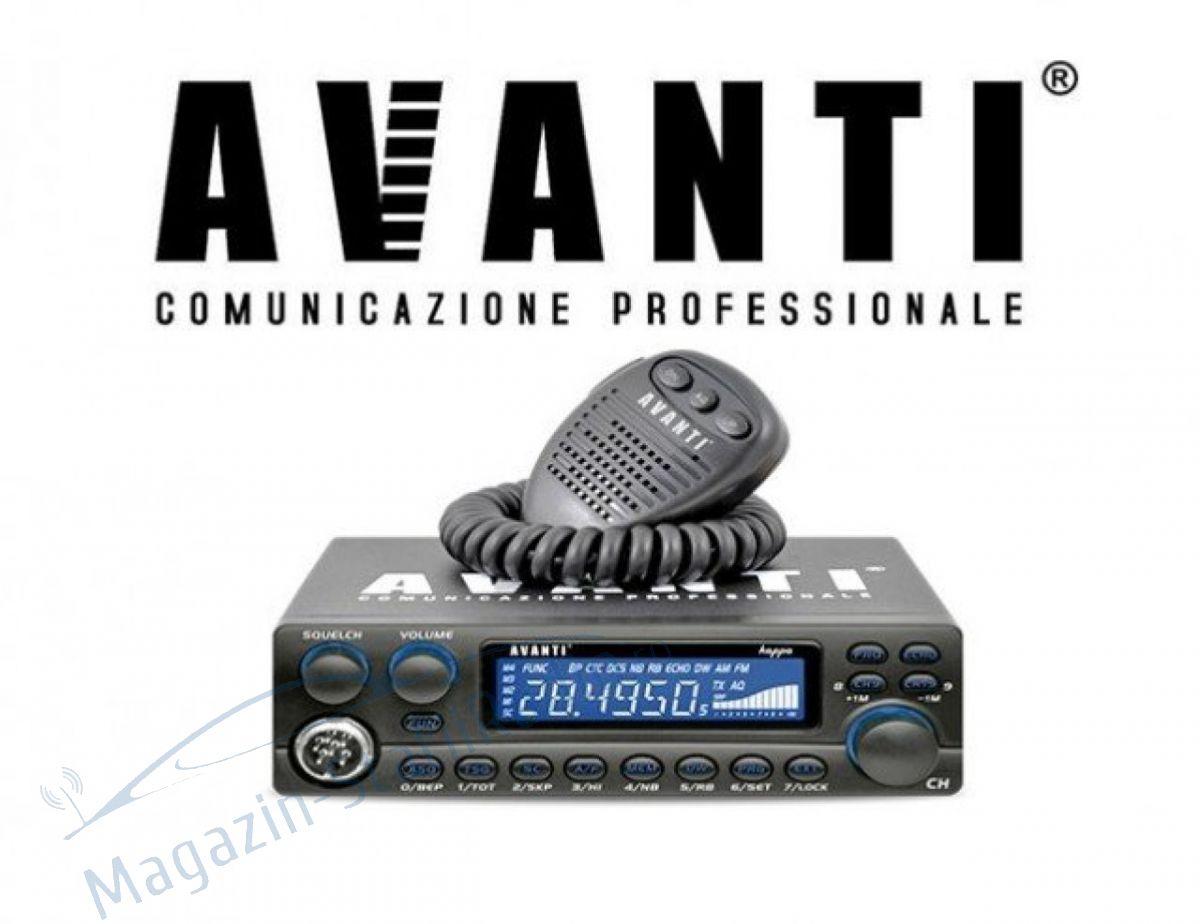 Statie Radio CB Avanti Kappa Professionale V1- Model nou, ASQ,RB