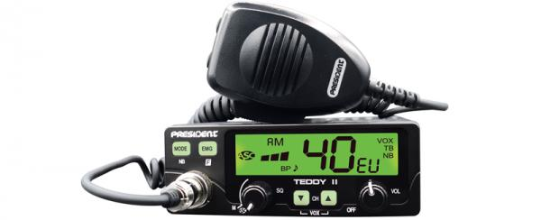 Statie Radio CB President Teddy II -Unboxing, prezentare, testare de la Magazin statii radio CB Brasov. Prezentare video cea mai noua/buna statie radio CB President!?